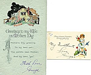 Vintage Mother's Day Cards (Image1)