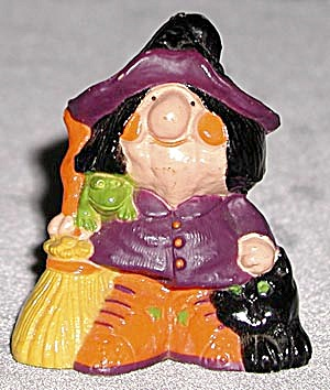 Hallmark Merry Miniature: Ugly Witch (Image1)