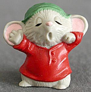 Hallmark Merry Miniature Sleepy Mouse