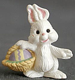 Hallmark Merry Miniature Bunny With Basket