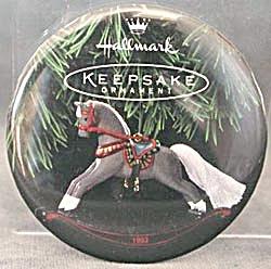 Vintage Keepsake Ornament Hallmark Button Pin (Image1)