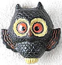 Vintage Hallmark Black Owl Pin (Image1)