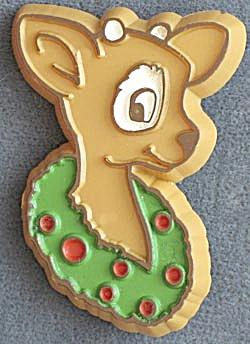 Hallmark Reindeer Pin (Image1)