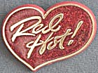 Vintage Red Hot Glitter Hallmark  Pin (Image1)