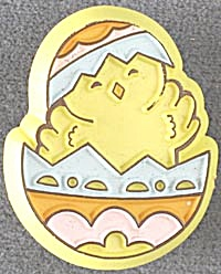 Hallmark Chick in Easter Egg Pin (Image1)