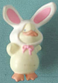Hallmark Duck in Bunny Suit Lapel Pin (Image1)