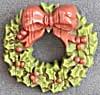 Hallmark Christmas Wreath Pin (Image1)