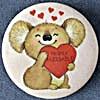 Hallmark Valentine Koala Bear Pin (Image1)