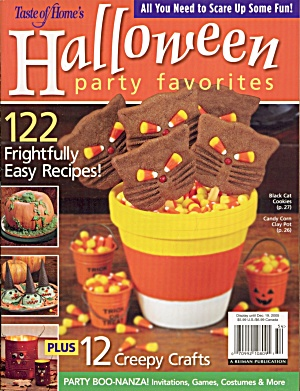 Halloween Party Ideas & Recipes Vintage Midnight Cake  (Image1)