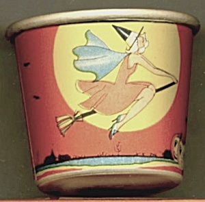 Vintage Halloween Tiny Paper Cup