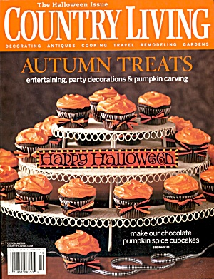 Country Living Halloween Issue. (Image1)