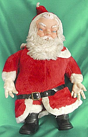 Vintage Coca Cola Santa Plush Doll (Image1)