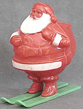 Vintage Rosen Santa Candy Container (Image1)