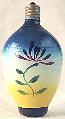 vintage Glass Chinese Lantern Light (Image1)