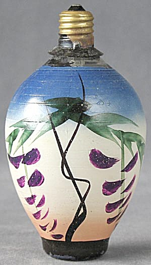 Vintage Vine Glass Chinese Lantern Light (Image1)