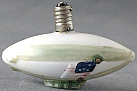 Vintage Zeppelin Christmas Light Bulb (Image1)