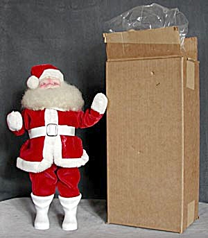 Vintage: Santa Mint In Box