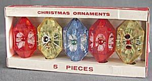Vintage Jewelbrite Plastic Christmas Ornaments (Image1)