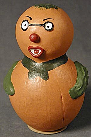 Vintage Gourd Man Halloween Candy Container (Image1)