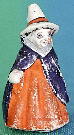Vintage Halloween Tiny Bisque Witch (Image1)