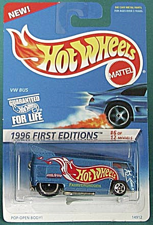 Hot Wheels #372 Vw Bus