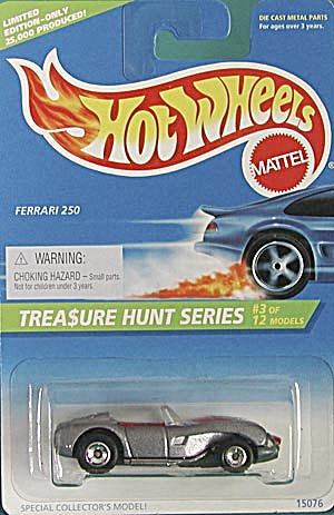 Hot Wheels #430 Ferrari 250 Treasure Hunt (Image1)
