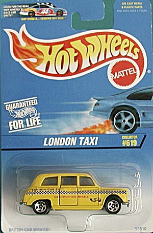 Hot Wheels #619 London Taxi