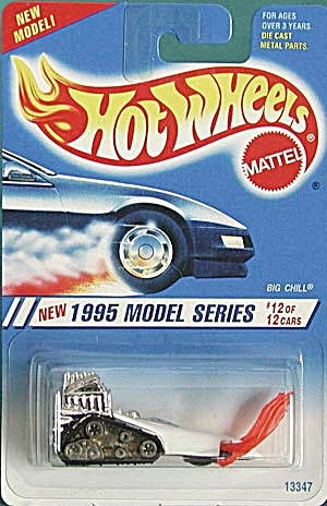 Hot Wheels #352 Big Chill Snowmobile