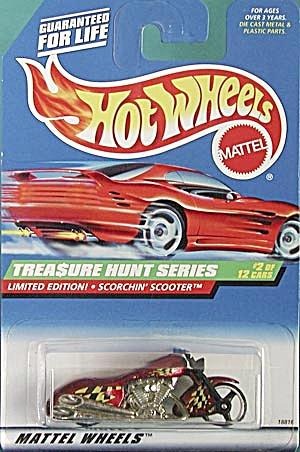 Hot Wheels #750 Treasure Hunt Scorchin Scooter (Image1)
