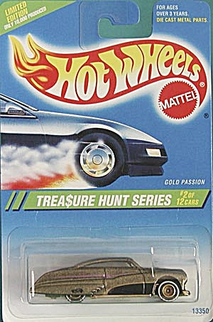 Hot Wheels #354  Gold Passion Treasure Hunt (Image1)