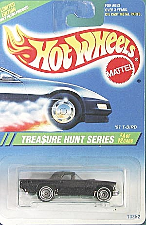 Hot Wheels # 356 57 T-Bird Treasure Hunt (Image1)