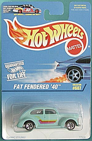 Hot Wheels #607 Fat Fendered '40