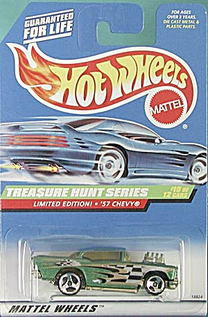 Hot Wheels # 758 �'57 Chevy Treasure Hunt (Image1)