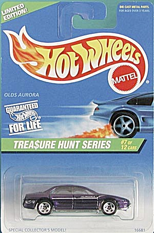Hot Wheels #584 Olds Aurora Treasure Hunt