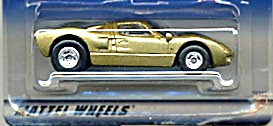 Hot Wheels T-hunt Ford Gt-40