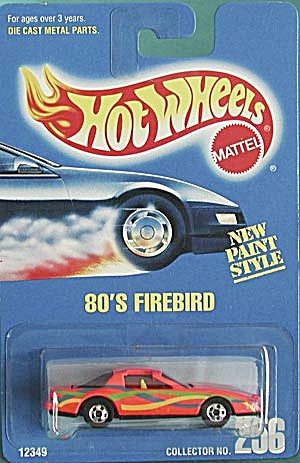 Hot Wheels #256 80'S Firebird (Image1)