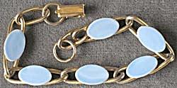 Vintage Blue Link Bracelet (Image1)