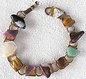 1950's Polished Stone Bracelet (Image1)