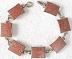 Vintage Goldstone Bracelet (Image1)