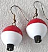 Fishing Bobber Float Earrings (Image1)