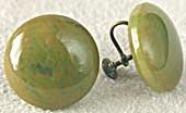 Vintage Bakelite  Earrings (Image1)