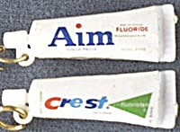 Aim & Crest Toothpaste Earrings
