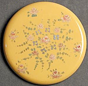 Vintage Large Round Bakelite Pin (Image1)