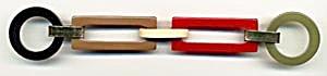 Vintage Bakelite Multicolor Buckle (Image1)