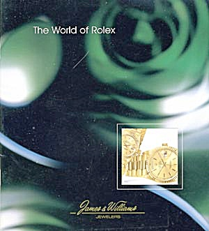 Rolex Watch Catalog 1995 (Image1)