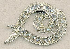vintage Aurora Borealis Pin (Image1)