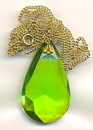 Vintage Green Necklace (Image1)