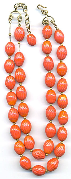 Vintage Double Strand Chocker Necklace (Image1)
