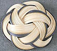 Vintage Woven Brooch (Image1)