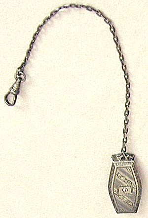Vintage Sterling Watch Chain (Image1)